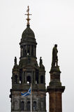 City Chambers in George Square, Glasgow, Scotland Stock Photo