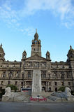 City Chambers in George Square, Glasgow, Scotland Royalty Free Stock Photography