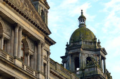 City Chambers in George Square, Glasgow, Scotland Royalty Free Stock Images