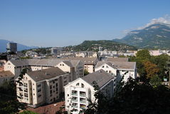 City of Chambery, in Savoy, France Stock Photo