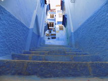 City of chefchaouen royalty free stock image
