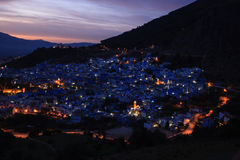 City Chefchaouen in Morocco Royalty Free Stock Photography