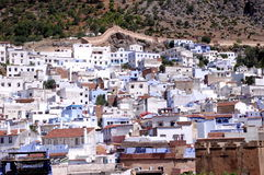 City of Chefchaouen Royalty Free Stock Photo