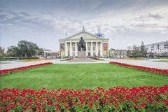 City  Chelyabinsk. Royalty Free Stock Image