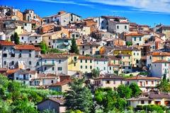 City of Chianciano Terme in Tuscany, Italy. City of Chianciano Terme in the province of Siena in Tuscany, Italy stock photos