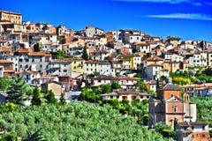 City of Chianciano Terme in Tuscany, Italy. City of Chianciano Terme in the province of Siena in Tuscany, Italy stock image