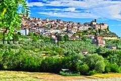City of Chianciano Terme in Tuscany, Italy. City of Chianciano Terme in the province of Siena in Tuscany, Italy stock photography