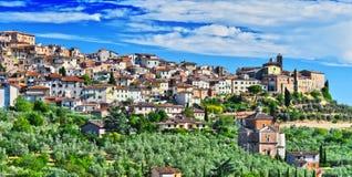City of Chianciano Terme in Tuscany, Italy. City of Chianciano Terme in the province of Siena in Tuscany, Italy royalty free stock images