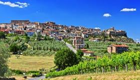 City of Chianciano Terme in Tuscany, Italy. City of Chianciano Terme in the province of Siena in Tuscany, Italy royalty free stock photo