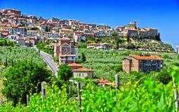 City of Chianciano Terme in Tuscany, Italy. City of Chianciano Terme in the province of Siena in Tuscany, Italy royalty free stock photography