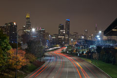 City of Chicago. Royalty Free Stock Images