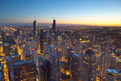 City of Chicago. Royalty Free Stock Photography