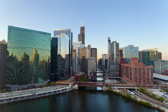 City of Chicago. Royalty Free Stock Photos