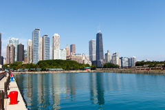 City of Chicago Royalty Free Stock Images