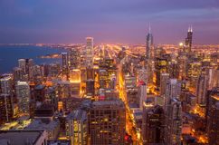 City of Chicago Royalty Free Stock Photo