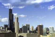 City of Chicago skyline Stock Image