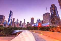 City of Chicago skyline USA Stock Photography