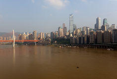 City chongqing Royalty Free Stock Images