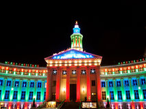 City at Christmas Royalty Free Stock Image