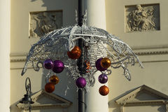 City Christmas decorations of the city Stock Photography