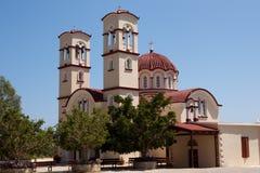 City Church in Georgioupolis, Crete, Greece Stock Image