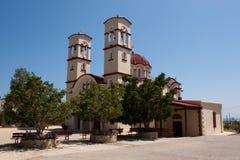 City Church in Georgioupolis, Crete, Greece Stock Images
