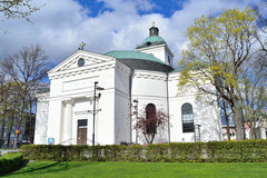 City  Church in Hameenlinna Royalty Free Stock Photo
