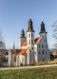 City Church in Visby, Sweden Stock Photography