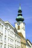 Wels, Austria. City church of Wels, Austria royalty free stock photo
