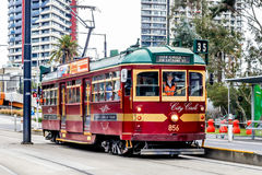 City Circle tram Royalty Free Stock Photography