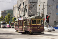 City circle tram Stock Image