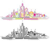 City circuit Stock Image