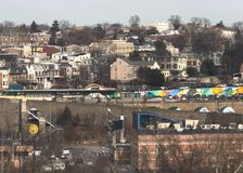 Philadelphia Pennsylvania Home of brotherly Love. City city life Philadelphia Pennsylvania Royalty Free Stock Image
