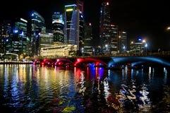city cityscape river singapore Στοκ εικόνες με δικαίωμα ελεύθερης χρήσης