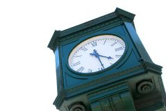 City clock Royalty Free Stock Photos