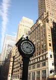 City clock Royalty Free Stock Image
