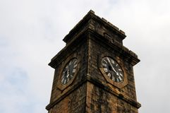 City clock tower in the town of Galle Royalty Free Stock Photography