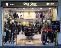 City club shop in hong kong Stock Photos