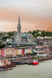 City Cobh in Ireland Stock Images