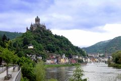 City of Cochem stock photography