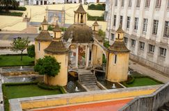 City of Coimbra in Portugal Royalty Free Stock Photo