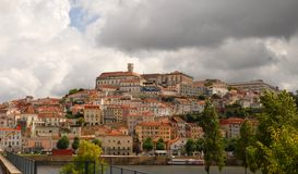City of Coimbra in Portugal Royalty Free Stock Photos