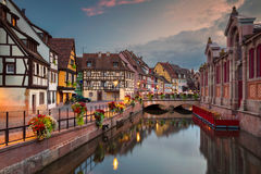 City of Colmar. Royalty Free Stock Photos