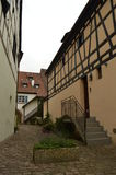 The city of Colmar on a cloudy day Stock Images
