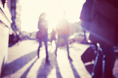 City commuters. Royalty Free Stock Photos