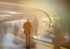 City commuters. royalty free stock photography