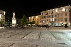 City of Como during the night Stock Photos