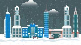 City and  snowfall