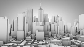 City concept. Image of  City concept in 3D Stock Photos