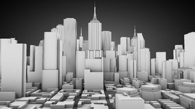City concept Stock Images